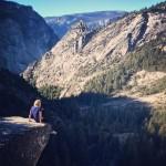 An image of Keren hiking