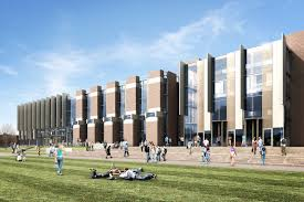 An image of The University of Kent Templeman Library extension