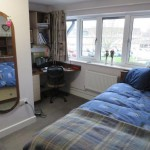 An image of a University of Kent bedroom