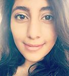 An image of Eman Salem. A University of Kent student blogger.