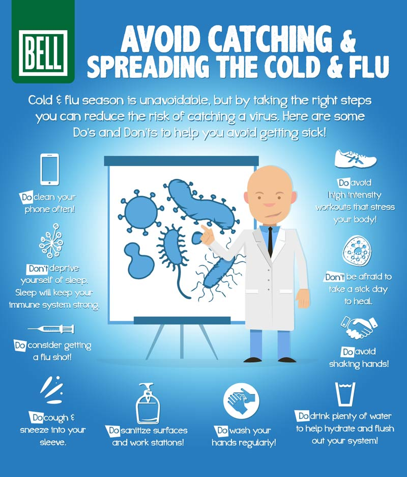 An image of cold a flu tips