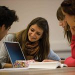 An image of University of Kent students studying.
