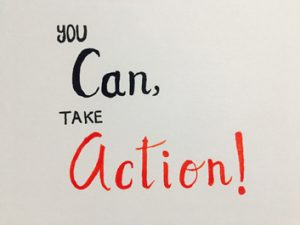 You can take action
