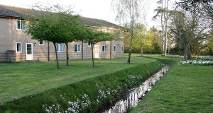 An image of the parkwood houses accommodation at the university of kent