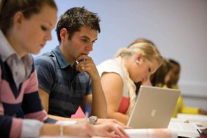 An image of universirty of kent students studying