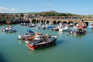 An image of Folkestone harbour