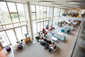 Templeman library study space