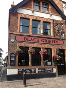 Black Griffin pub in Canterbury