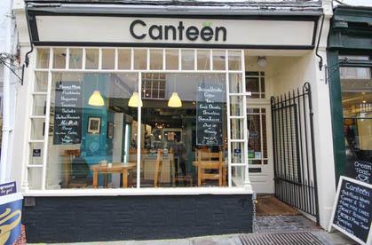 Canteen cafe in Canterbury
