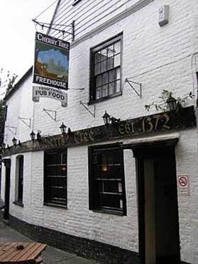Cherry Tree pub in Canterbury