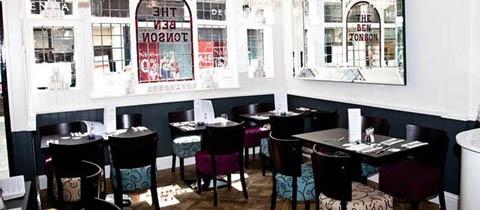 Oscar and Bentleys restaurant in Canterbury