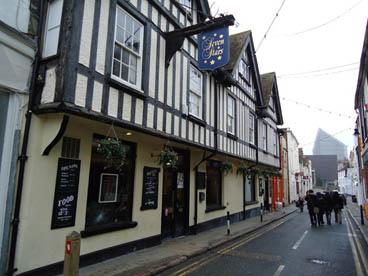 Seven stars pub in Canterbury