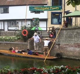 Canterbury punting