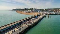 Folkestone Harbour arm