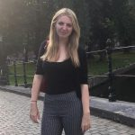 Lucy Webb. A University of Kent student blogger