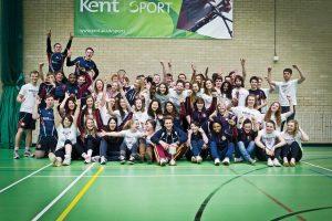 Students enjoying sport at the university of kent