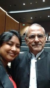 Selfie with Jose Ramos Horta