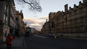 Sunset in Oxford