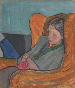 by Vanessa Bell (ne eStephen), oil on board, 1912