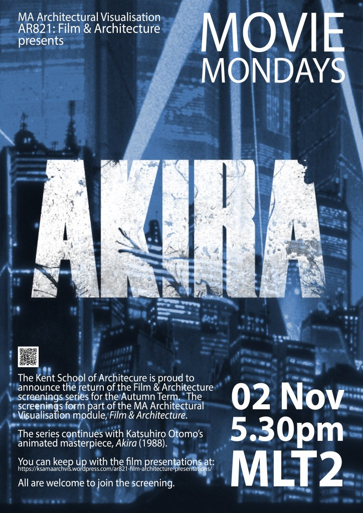 Movie Mondays Poster 2015 - Akira