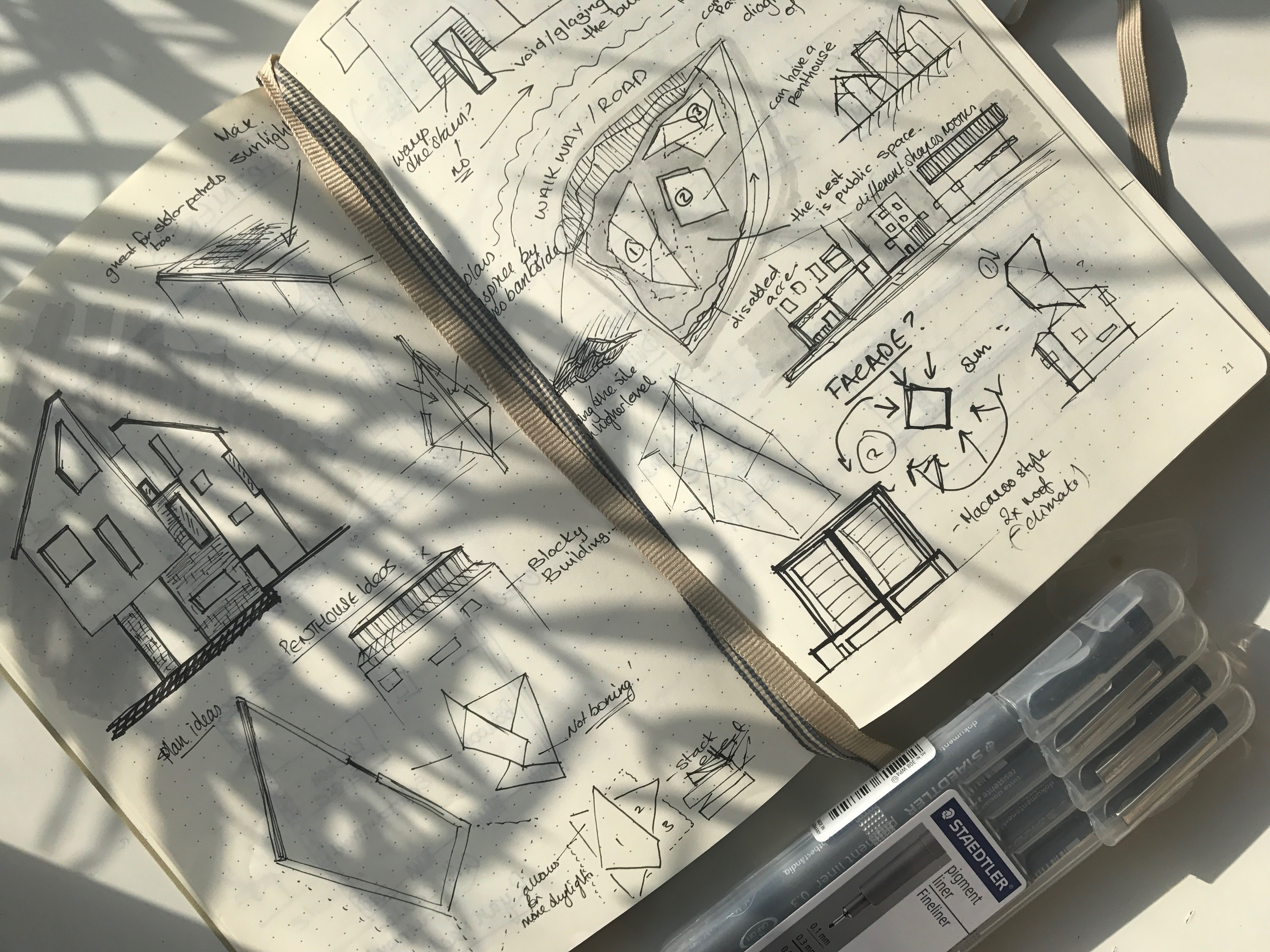 Design process of a KSA architecture student