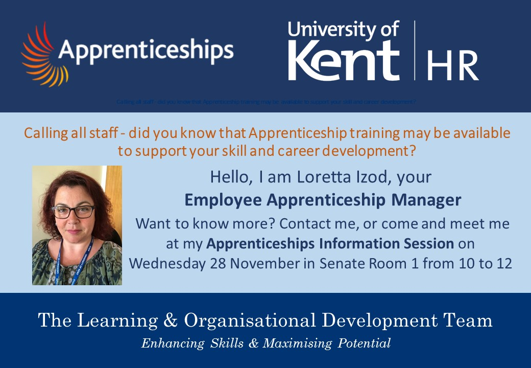 Apprenticeship Information Session - HR - learning