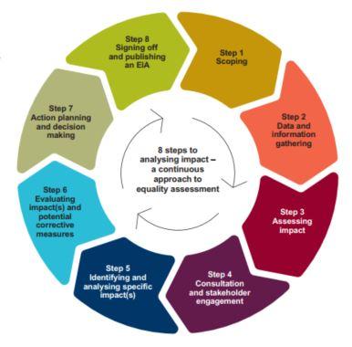 8 Steps to equality analysis
