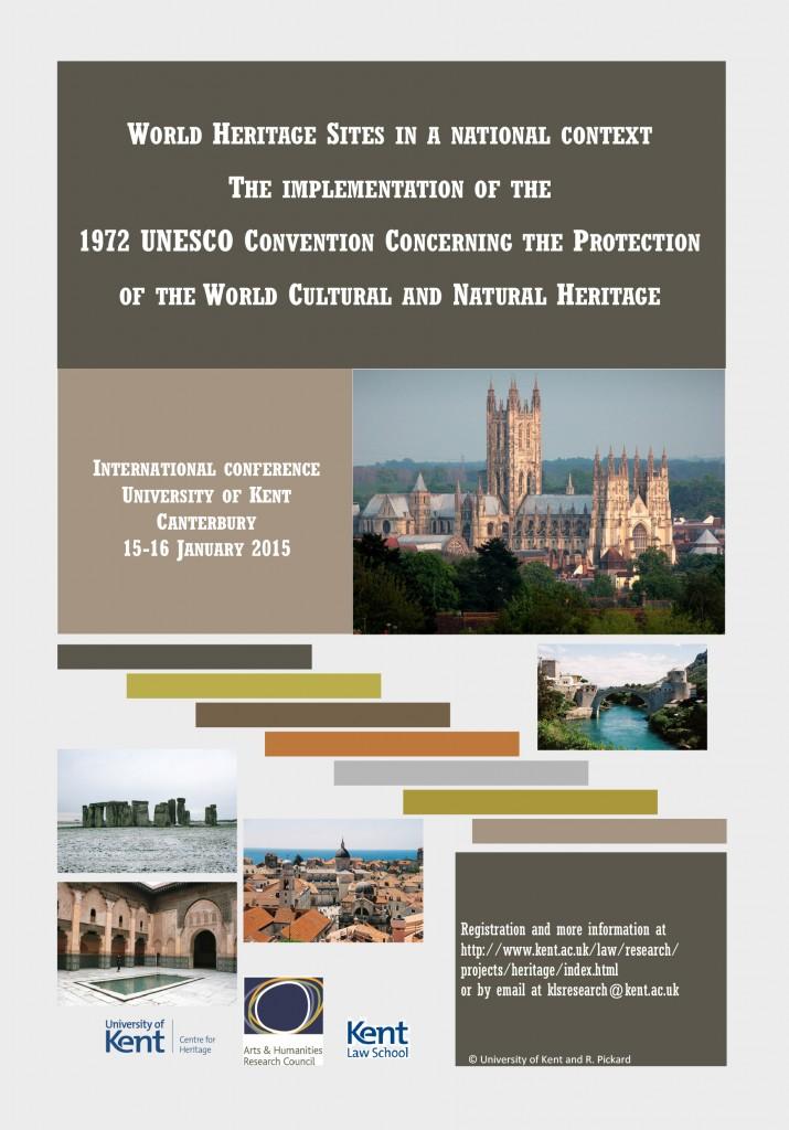 International conference at Kent examines World Heritage
