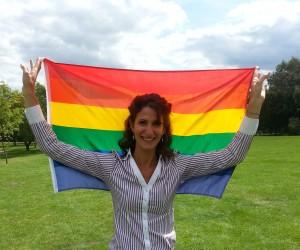 Natalia rainbow flag