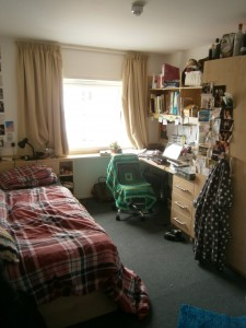 Study bedroom (Jess Vincent, Student Experience of Digital Life)