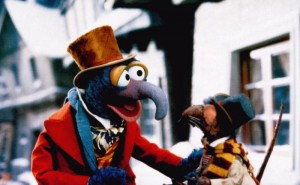THE MUPPET CHRISTMAS CAROL, from left: The Great Gonzo, Rizzo the Rat, 1992. ©Walt Disney Pictures