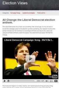 Election Views screenshot