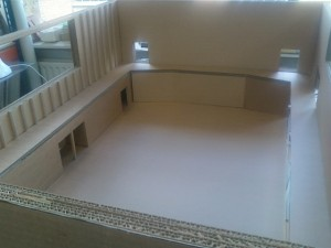 Model of the hall