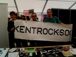 RockSoc at Freshers' Fayre