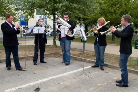 Brass students