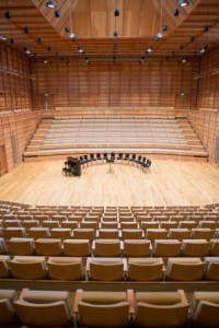 The new Colyer-Fergusson concert hall