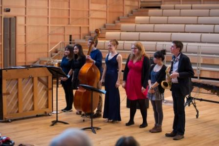 In pictures: Music Scholars lunchtime concert in the new hall