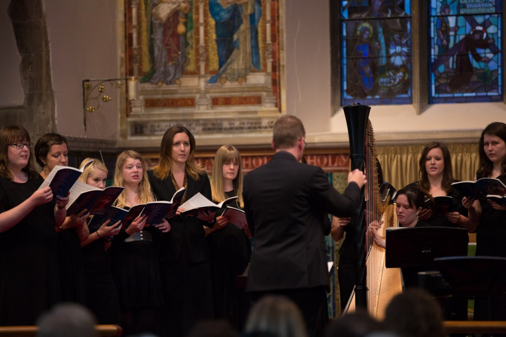 The Cecilian Choir performing in 2013