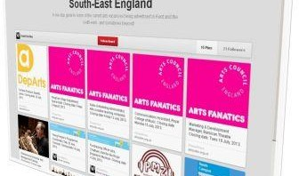 Employability: arts vacancies Pinterest board