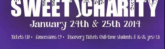 Sweet Charity comes to town this weekend