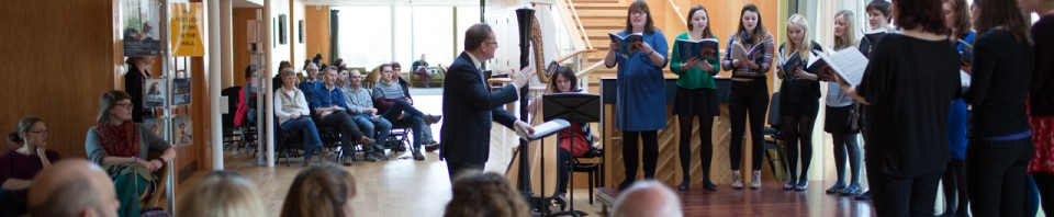 Image gallery: lunchtime concert on the foyer-stage