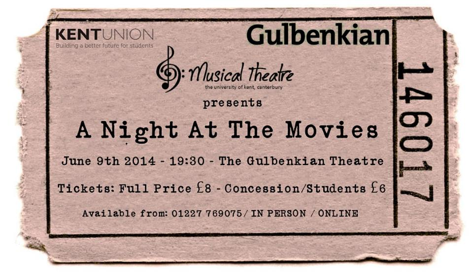 night at the movies poster