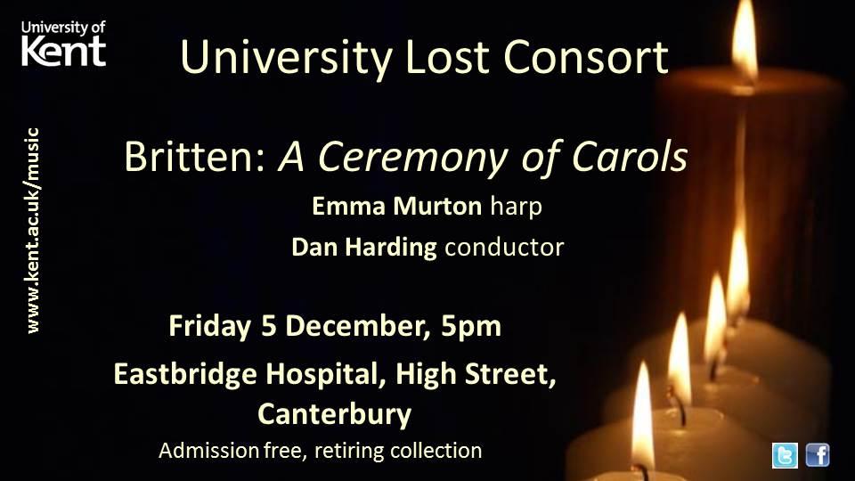 Lost Consort Britten WS