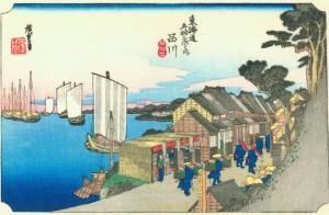 Hiroshige_Shinagawa