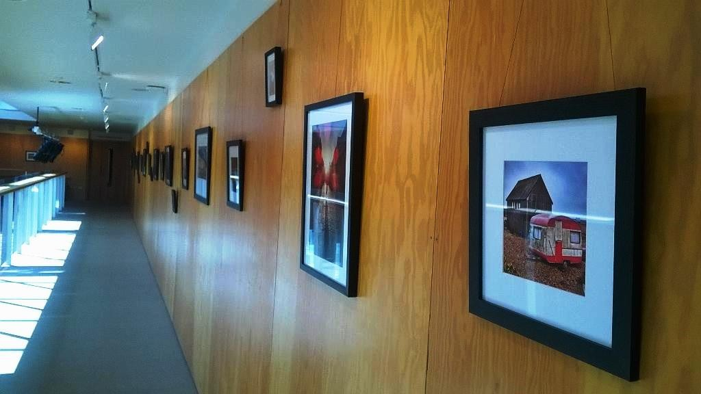 Phil's images on display in the Colyer-Fergusson gallery