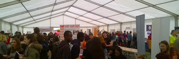 All the fun of the (Freshers') Fayre