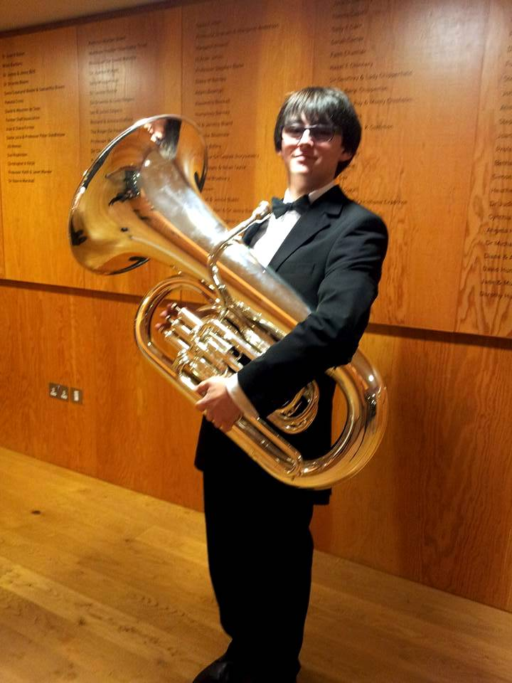 Edward Styles With Tuba