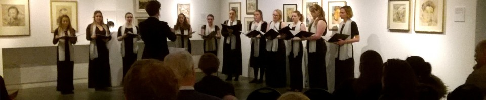 A re-sounding success: Minerva Voices at Studio 3 Gallery