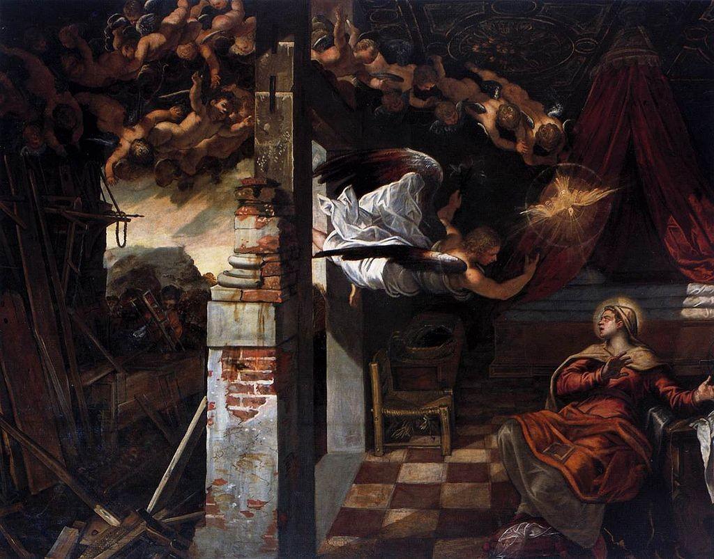 Tintoretto: Annunciation