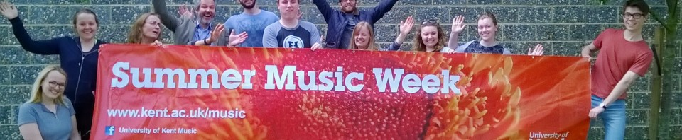 Some folk are excited about Summer Music Week…